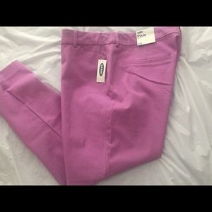 NEW OLD NAVY ANKLE WOMENS PANTS LAVENDER 12 14 18